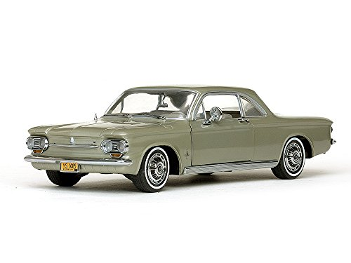 1963 Chevrolet Corvair Coupe Autumn Gold 1/18 by Sunstar 1485