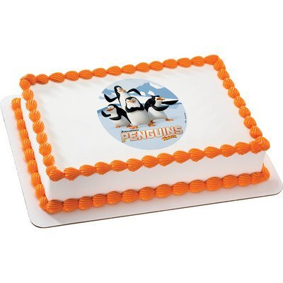 The Penguins of Madagascar Licensed Edible Cake Topper #36322