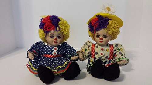 Marie Osmond Collectible Doll (Marie Osmond Fine Collectibles - Rosie & Rags Clowning AroundClown)