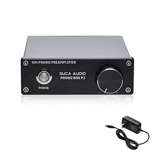 Find Bargain Phono Preamp SUCA-AUDIO Turntable Preamplifier MM Phonograph Stage Preamp for Record Pl...