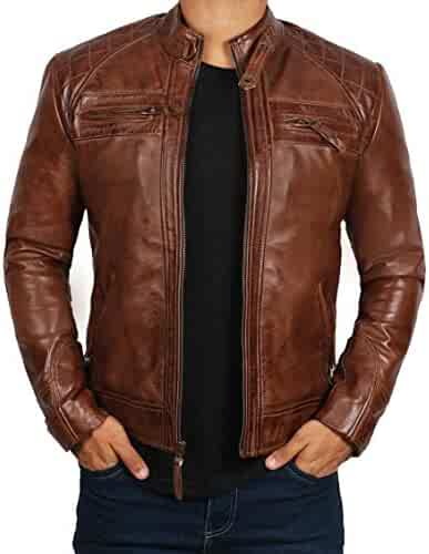 01f403716 Shopping Leather & Faux Leather - Jackets & Coats - Clothing - Men ...
