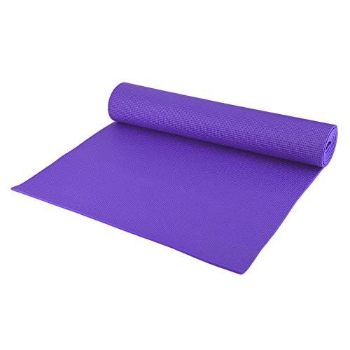 HarveyRudol85 Yoga Mat PVC Antideslizante 6 mm de Espesor Gimnasia Ejercicio Pad para Body Building