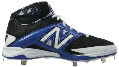 New Balance, Sneaker uomo Blue With Black & White