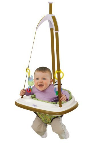 c8eb2c804b88 Amazon.com   Baby Jumper Bouncer Seat Chair w  Interactive Toy Set ...