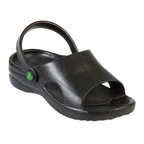 Kids' Dawgs Slides Black Size 13
