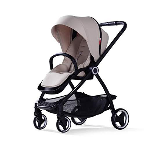 BABIFIS Baby Stroller European Folding Bebek Arabasi High Landscape Pram Portable Baby Carriages Pushchair Gray