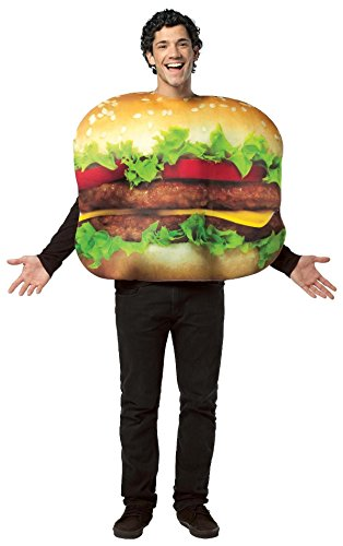 Cheseburger ~ Adult Costume ~ One Size Fits (Burger King Costume Halloween)