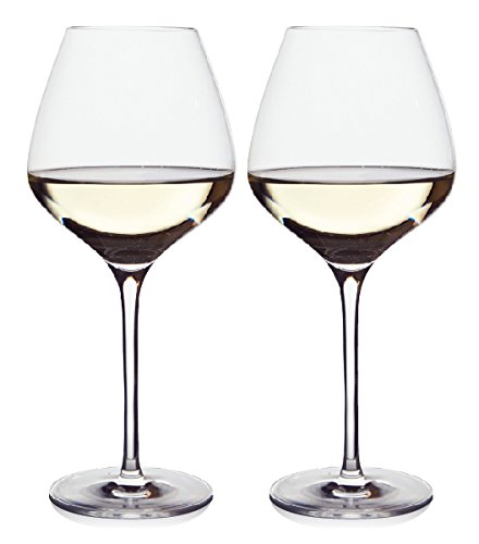The One Wine Glass - Perfectly Designed Shaped Wine Glasses For All White Wines...