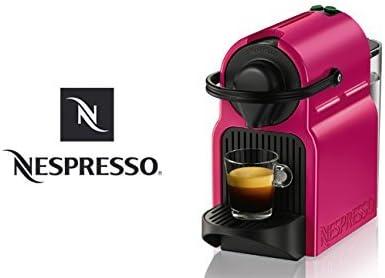 Turmix tx155 Inissia Fucsia Velvet de cápsulas de Nespresso Automat: Amazon.es: Electrónica