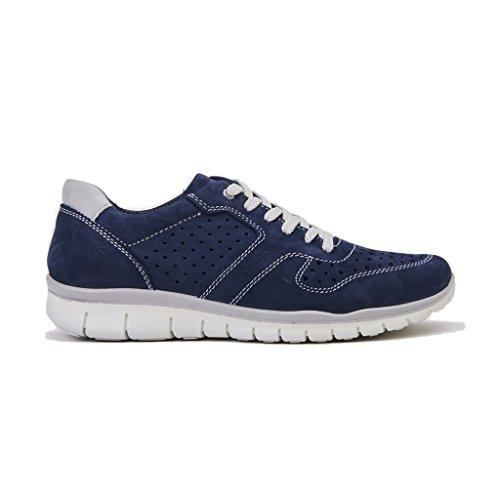 IGI&Co Sneakers Uomo 1116400/UBN 11164AZZURRO, In Camoscio e Tela, Colore Blu, Nuova Collezione Primavera Estate 2018