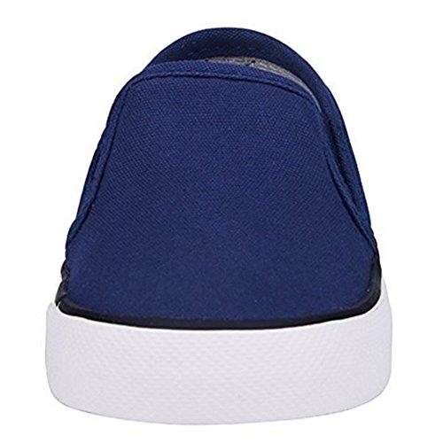 MINIRAH! Zapatos de Bebé Zapatos de Lona Para Niños Deportes Caminante Primero Zapatos de Lona Suave Niños y Niñas Zapatos Casuales Bajo Para Ayudar azul oscuro