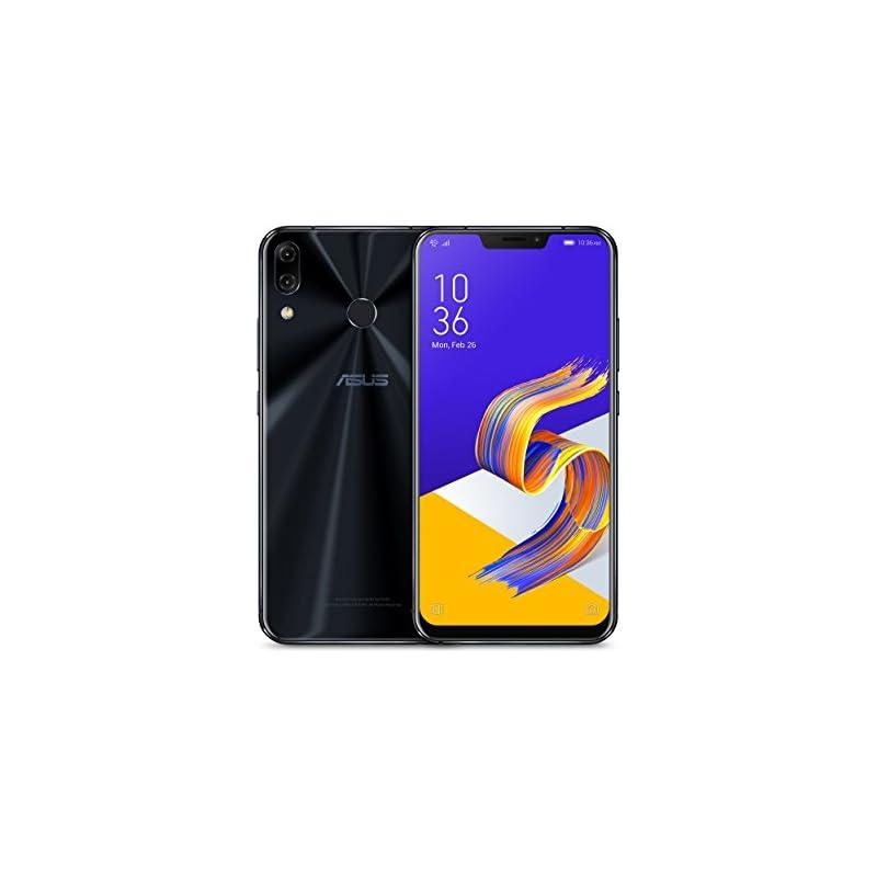 "ASUS ZenFone 5Z (ZS620KL-S845-6G64G) - 6.2"" FHD+ 2160x1080 display - 6GB RAM - 64GB storage - LTE Unlocked Dual SIM Cell Phone - US Warranty - Midnight Blue"
