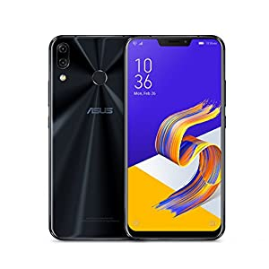 "ASUS ZenFone 5Z (ZS620KL-S845-6G64G) – 6.2"" FHD+ 2160×1080 display – 6GB RAM – 64GB storage – LTE Unlocked Dual SIM Cell Phone – US Warranty – Midnight Blue"