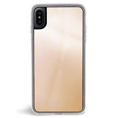 ZERO GRAVITY iPhone X Cell Phone Case-Apple iPhone X Phone Case by Zero Gravity (Gold Mirror)