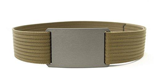 Grip6 Adjustable No Holes Men's Belt (34, Tiger's - Cotton Belt Tiger