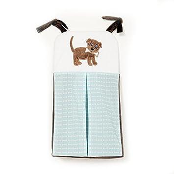 Cachorro Pal Boy apilador de pañales, Azul, Marrón y Negro