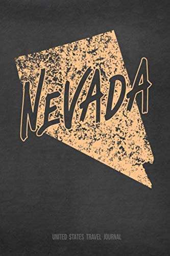 Nevada United States Travel Journal: Blank Lined Vacation Holiday Notebook