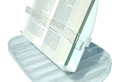 AquaReader Floating Book//Tablet Caddy for Bath Clear Pool and Hot Tub