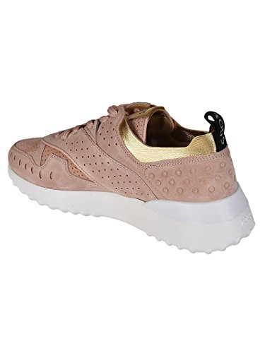 Tod's XXW80A0W590IV50YZM traforata Sneaker Rosa Pelle Donna in Rosa rxwrq8zW