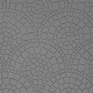 Cool Tools - Flexible Texture Tile - Mosaic Mantra Fineline - 4
