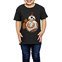 VAP Kid StarWars The Force Awakens Bb-8 Child T-Shirt Black
