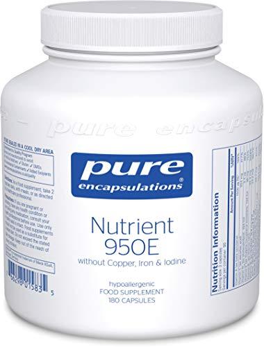 Pure Encapsulations - Nutrient 950E Without Cu, Fe & Iodine - Multivitamin...