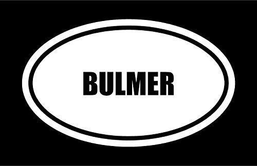 6-die-cut-white-vinyl-bulmer-name-oval-euro-style-decal-sticker