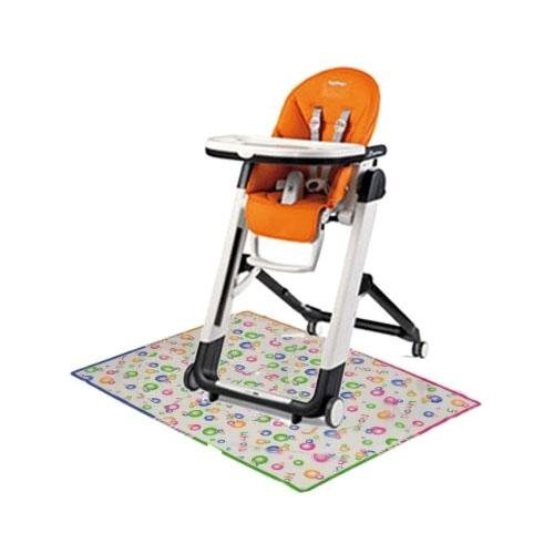 Peg Perego Siesta High Chair with Splat Matt - Arancia (Peg Perego Prima Pappa Best High Chair)