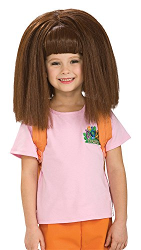 UHC Girls Nickelodeaon Dora Wig Child Halloween Costume Accessory for $<!--$15.29-->