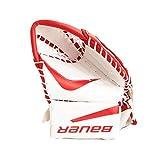 Bauer Junior 5000 Catch Glove, White/Red, Regular