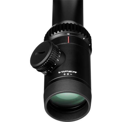 Vortex Viper PST 6-24x50mm FFP Riflescope w/ EBR-2C MRAD Reticle, Black PST-43128 w/Vortex