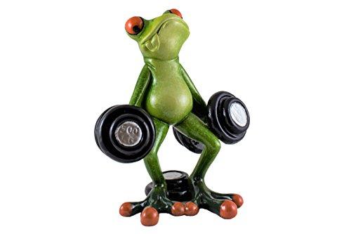- Sada Novelty Frog Weightlifter 5 Inches Tall