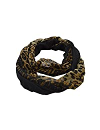 New Animal Print Viscose Infinity Scarf