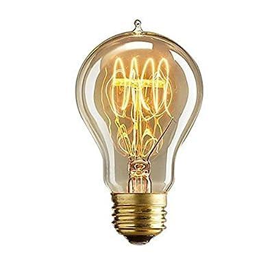 ANYQOO Edison Light Vintage Bulbs Lamps Filament Lighting Antique 40W