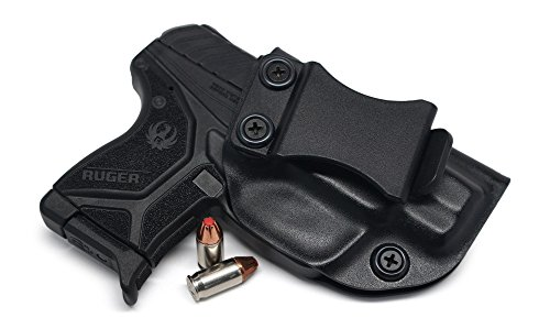Concealment Express IWB KYDEX Holster: fits Ruger LCP II - Custom Fit - US Made - Inside Waistband - Adj. Cant/Retention (BLK, ()