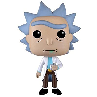 Funko POP Animation: Rick & Morty - Rick Action Figure: Funko Pop! Animation:: Toys & Games
