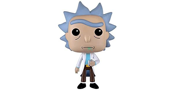 Amazon.com: Funko Pop Figura de Rick de Rick & Morty ...