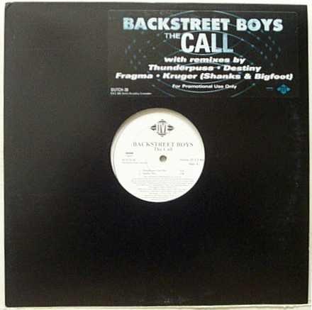 Backstreet Boys / The Call (Remix) - Vinyl Records Backstreet Boys