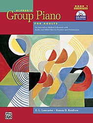 (Alfred's Group Piano for Adults Student Book 1 (Second Edition): An Innovative M)