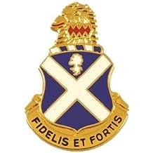 113th Infantry Unit Crest (Fidelis Et Fortis)