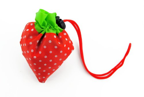 Leegoal Strawberry Reusable Recycling Shopping