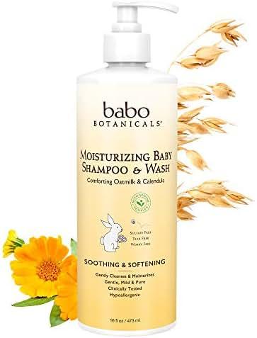 Baby Shampoo: Babo Botanicals Moisturizing