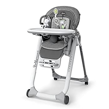 Image of Baby Chicco Progress Relax Highchair, Silhouette