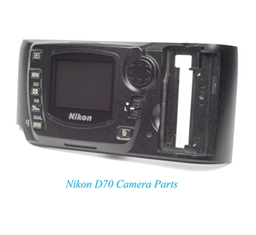 - Geniune Nikon D70 Rear Body Cover w/LCD - Replacement Repair Parts