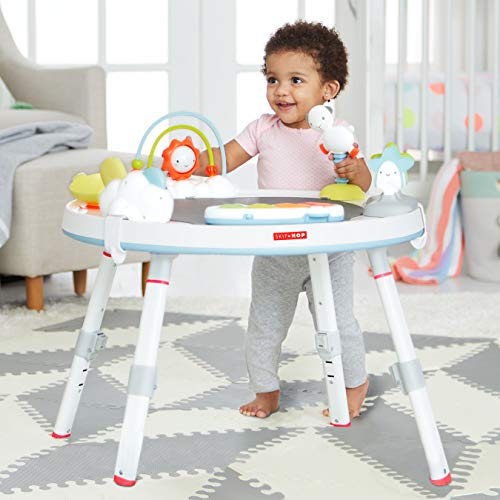 41feKiRPXgL - Skip Hop Baby's View 3-Stage Activity Center, Silver Lining Cloud, 4 Months