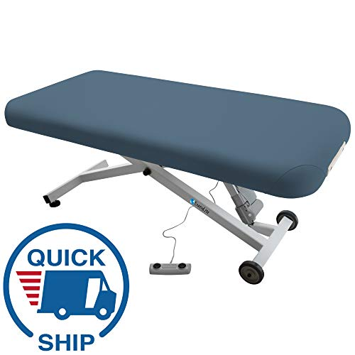 EARTHLITE Electric Massage Table ELLORA - The Quietest, Most Popular Spa Lift Hydraulic Massage Table - Made in USA/Customer Service in the USA (28, 30, 32 x 73)