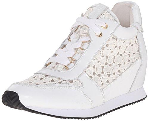 Ash Women's Dream Lace Fashion Sneaker, White/Ivory, 41 EU/11 M US