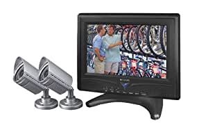 "Wisecomm LCD0935 9.2"" Negro - Monitor (640 x 480 Pixeles, LCD, Not supported, 640 x 480 (VGA), 350:1, Negro)"