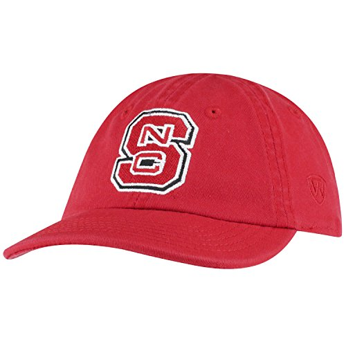 Top of the World North Carolina State Wolfpack Infant Hat Icon, Red, Adjustable