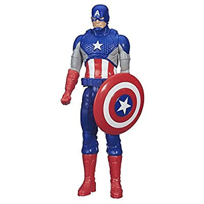 Marvel Titan Hero Series Captain America: Toys & Games